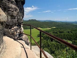 Výlet do Saského Švýcarska na Pfaffenstein