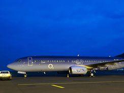 Boeing 737-800 Travel Service v barvách operátora O2