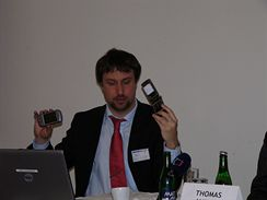 Sebastian Schreiber na IDC Security RoadShow