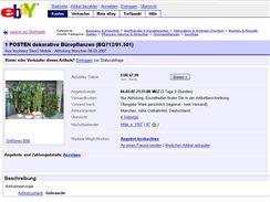 Rozprodej majetku BenQ-Siemens na eBayi