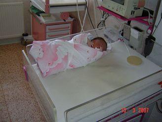 V Plzni se narodila holčička s více než 5 kilogramy váhy.