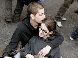 Desetitisíce lidí demonstrovaly v Římě (10.3.2007)