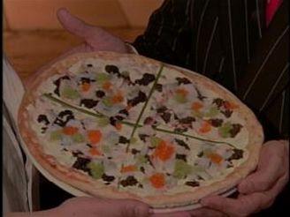 Nejdražší pizzu na světě zdobí kaviár a humr