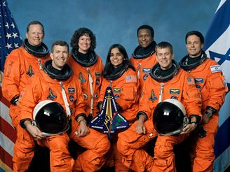 Posádka mise STS-107