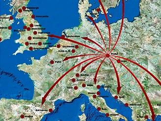 Kam létají nízkonákladové společnosti z Prahy