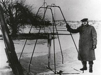 16.3.1926 Goddard s první raketou