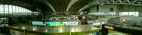 CeBIT 2007 - výstavní hala číslo 2