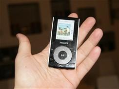 Philips - MP3 přehrávač SA51xx s podporou WMA DRM