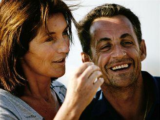 Nicolas Sarkozy s manželkou Cecilií