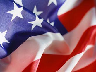 USA, Spojené státy, Amerika - vlajka