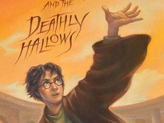 Harry Potter and Deathly Hallows - americká obálka, kterou přebírá i Albatros