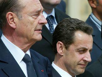 Jacques Chirac a Nicolas Sarkozy