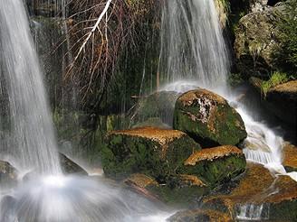 Jizerské hory, vodopád Jedlová