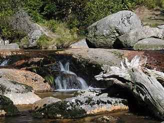 Jizerské hory, výlet k vodopádu Jedlová