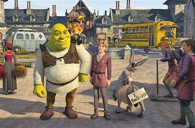 Kliknutím zobrazíte větší formát - Z filmu Shrek Třetí
