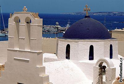 Kliknutím zobrazíte větší formát - Ostrov Paros, Řecko
