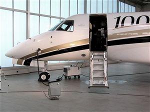 Luksusní tryskáč Embraer Legacy 600