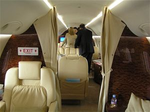 Luxusní tryskáč Embraer Legacy 600