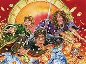 Harry Potter and Deathly Hallows - britská obálka, vydání pro děti