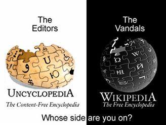 Uncyclopedia.org vs Wikipedia.org
