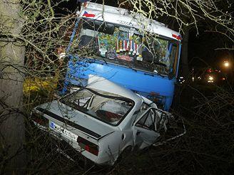 tragická nehoda u Dolánek nad Ohří