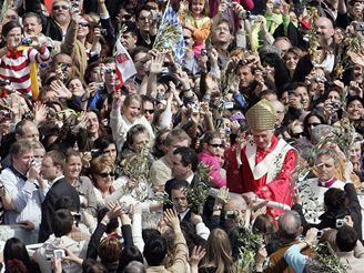 Papež Benedikt, Květná neděle 2007
