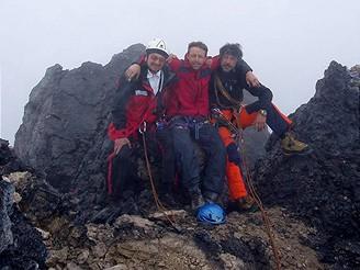 Na vrcholu Carstensz