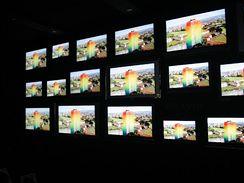 Sony - televizory na zdi