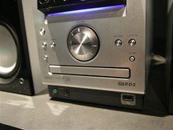 Sony - mikrosystém_detail USB