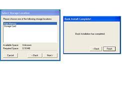 eReader Book installer konec