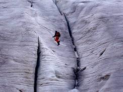 Na ledovci Ngga Pullu
