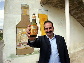 Nadjím Choury, majitel palestinského pivovaru