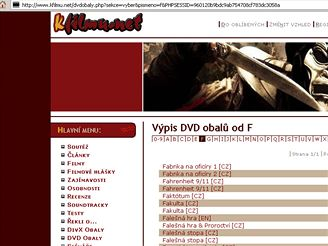 DVD obaly