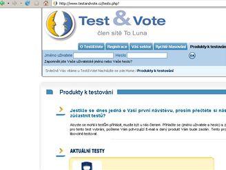 Test&Vote.cz