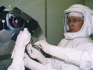 Manipulace v nejčistší hale v Houstonu