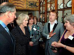Jamie Oliver a princ Charles