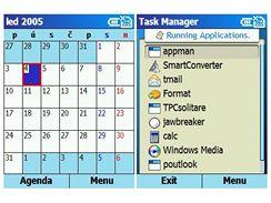 WM 2003 SE - kalendář a Task Manager