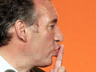 Francois Bayrou po vyhlášení výsledků prvního kola prezidentských voleb