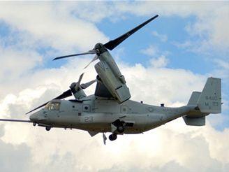 V-22 Osprey - otáčení rotoru
