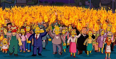 Kliknutím zobrazíte větší formát - The Simpsons - z celovečerního filmu