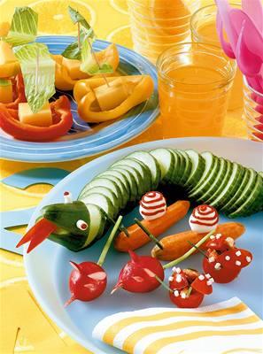 Zeleninová zví�átka a lodi�ky