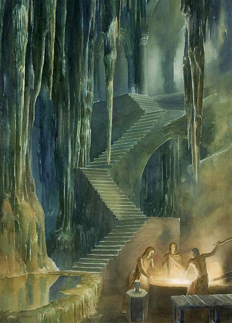 Ilustrace z knihy Húrinovy děti