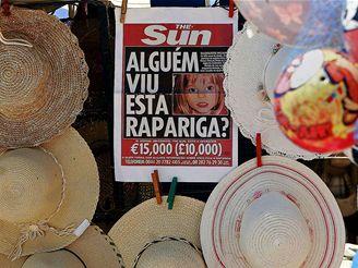 V Portugalsku hledají tříletou Britku Madeleine McCannovou