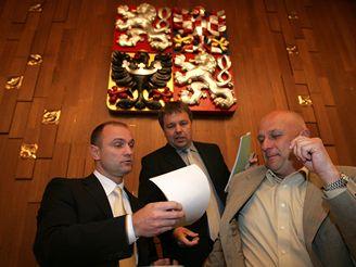 Ivan Langer, Tomáš Julínek a Petr Tluchoř