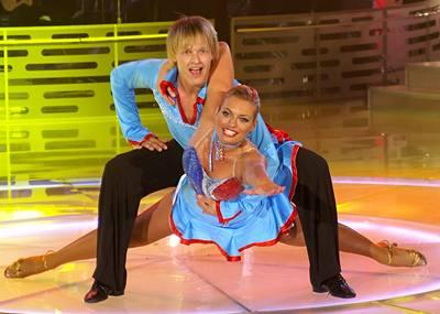 Kliknutím zobrazíte větší formát - Lucie Borhyová a Petr Pik, 4.5.2007