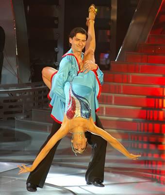 Kliknutím zobrazíte větší formát - Zdeněk Podhůrský s Lenkou Sekaninovou, 4.5.2007