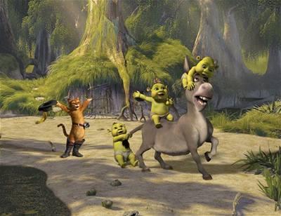 Kliknutím zobrazíte větší formát - Shrek 3