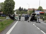 Na místě nehody zasahovali chrudimští hasiči