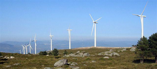 Větrná farma - Španělsko
