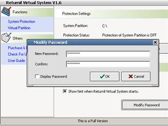 Returnil Virtual System